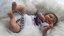 "BEAUTIFUL FULL SOFT VINYL REBORN DOLL BABY GIRL REALISTIC 16"" PREEMIE"