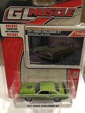 Greenlight MUSCLE  1971 Dodge Challenger R/T.    green