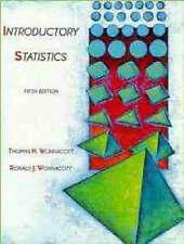 Introductory Statistics, 5th Edition by Wonnacott, Thomas H., Wonnacott, Ronald