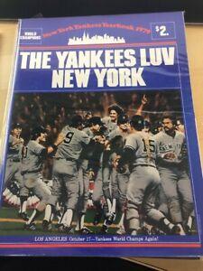 1979 New York Yankees Yearbook World Champions, Reggie Jackson, Thurman Munson