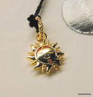 NWT AUTHENTIC PANDORA SHINE™ PENDANT/CHARM SPARKLING SUN #368793C01 HINGE BOX