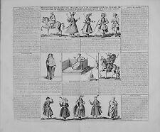Antica mappa, la descrizione des abitudini des PERSAN