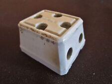 ancienne prise en porcelaine legrand-3 branchements-multiprise