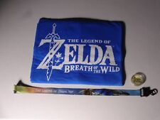 E3 2016 EXCLUSIVE OFFICIAL LEGEND OF ZELDA BREATH OF THE WILD SHIRT COIN LANYARD
