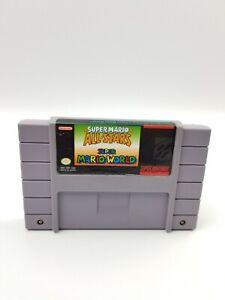 Authentic Super Mario All-Stars + Super Mario World (Super Nintendo) Tested