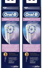Oral-B Sensi Ultrathin de Rechange-Brossette 2 x 3er Pack = 6 Pièces)
