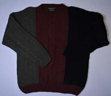 Vintage Mens Timberland Size XL Hand Knitted Sweater Wool / Alpaca Italy TIM1