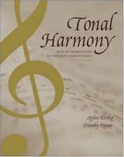 Tonal Harmony by Dorothy Payne and Stefan Kostka 5th Edition 2003 Hardcover