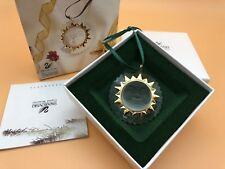 Swarovski Figur Sonne Ornament 5 cm. Mit Verpackung und Zertifikat. Top Zustand