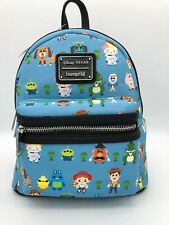 Loungefly Disney Pixar Toy Story 4 Chibi Characters Mini Backpack Bag Buzz Forky