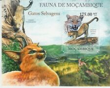 Mocambique Big Cats Block From 2011 (MNH)
