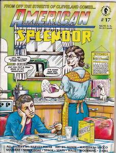 AMERICAN SPLENDOR #17 - LAST ISSUE, HARVEY PEKAR, SACCO, WOODRING- FREE SHIPPING