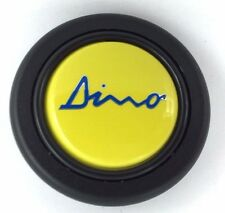 Dino logo steering wheel horn push button. Fits Momo Sparco OMP Nardi Raid etc