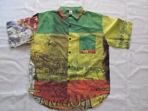Bob Marley - Ultra Rare Vintage Shirt, Size L - Made IN Italy
