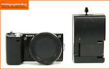 Sony NEX-5 Ultra Compact Camera, Battery EU Charger  E Mount  Free UK Post