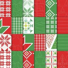 🎄Stampin Up Quilted Christmas Designer Series Paper