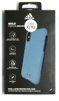 Adidas Solo Case Rugged Case Cover for Apple iPhone X/ iPhone XS - Blue