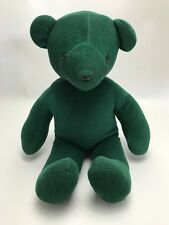 "North American Bear Co Bear Plush Large 21"" Emerald Green Vintage 1979"