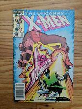 UNCANNY X-MEN 194 NEWSTAND VARIANT MARVEL COMICS HIGH GRADE