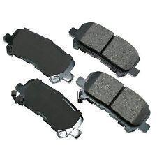 Rear Brale Pads ACURA SEMI METALLIC MDX 2007-13 ZDX 2010-2013 Premium Brakes