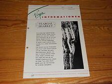 VIRGIN INFORMATION 3/1986 / PROMO-HEFT MIT THE CULT, FEARGAL SHARKEY