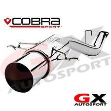 SB01y Cobra Sport Subaru Impreza WRX STI 01-05 Race Type Rear Box Exhaust
