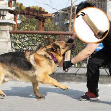 Dog Bite Tug Training Toy Durable Jute Stick Puppy Pet Biting Playing Schutzhund