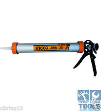 "ING-CO 380mm Industrial Aluminium Caulking & Sausage Gun 15"" - HCG0115"