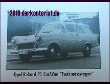 Opel Modellautos, - LKWs & -Busse als Werbemodell im Maßstab 1:87