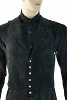 SHRINE GOTHIC ARISTOCRAT VAMPIRE VEST JACKET VICTORIAN VELVET PIRAT STEAMPUNK