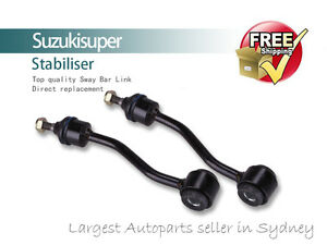 2 Front Sway Bar Link Kit Jeep Wrangler TJ Stabiliser Pair 1997-2006