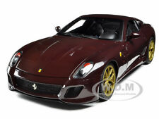MICHAEL MANN FERRARI 599 GTO BURGUNDY ELITE EDITION 1/18 BY HOTWHEELS V7424