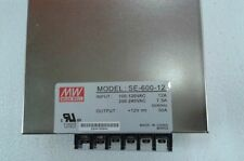 1PCS NEW Meanwell Power Supply SE-600-12 ( SE60012 )