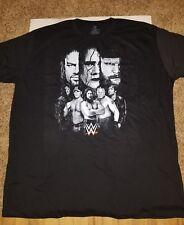 NWOT 2015 WWE legends T-Shirt Men's 3XL Undertaker Cena Lesnar Reigns Sting NOS
