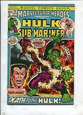 MARVEL SUPER-HEROES #33 DEATH TO THE HULK! (6.0)