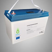 LiFePo4 Battery 12V 100Ah with BMS Lithium Solar Power Bank Iron Phosphate RV