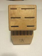 J.A. Henckels Wood Knife Block Storage 12 Slot Twin Pro S Henckles ZWilling