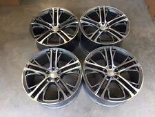 """22"""" ruedas de estilo escalonada X5 X6 310M Gun Metal mecanizado BMW E70 E71 F15 F16"""