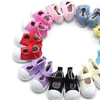 5cm Doll Shoes Canvas Mini Toy Shoes1/6  For Russian  Doll Sneacker qn