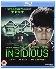 Insidious (Blu-ray, 2011) New & Sealed FREE SHIPPING