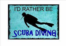 Style vintage plongée sous-marine signe plongée plaque murale plongée sous-marine photo signe