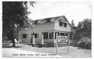 Bruce County PORT ELGIN Cedar Brook Lodge - Circa 1953
