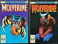 Wolverine #2 & #3 (1982) VF/NM 9.0 Frank Miller! Gorgeous Copies! Marvel Comics