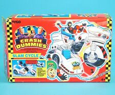 INCREDIBLE CRASH DUMMIES SLAM CYCLE 100% COMPLETE BOXED SEALED CONTENTS MIB EURO