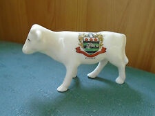 Poole Dorset Crest-vaca Jersey-isla de Wight terneros-Grafton Crestado de China