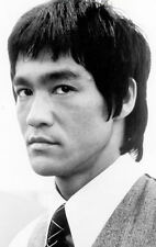 Framed Print - Bruce Lee Black & White (Martial Arts Picture MMA Poster Kung Fu)