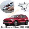 8pcs For 2020-2021 Ford Escape Kuga abs Chrome Door Handle Bowl Cover Trim