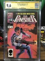 Punisher 5 Cgc 9.6 Limited Series 2x Signed John Beatty Michael Zeck