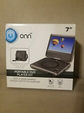"Onn Ona19Dp006 Swivel Portable Dvd Player Kit, 7"" Ga"