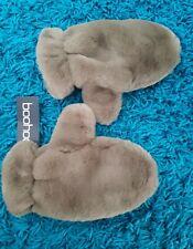 Bnwt Ladies Fluffy Faux Fur Mittens Gloves